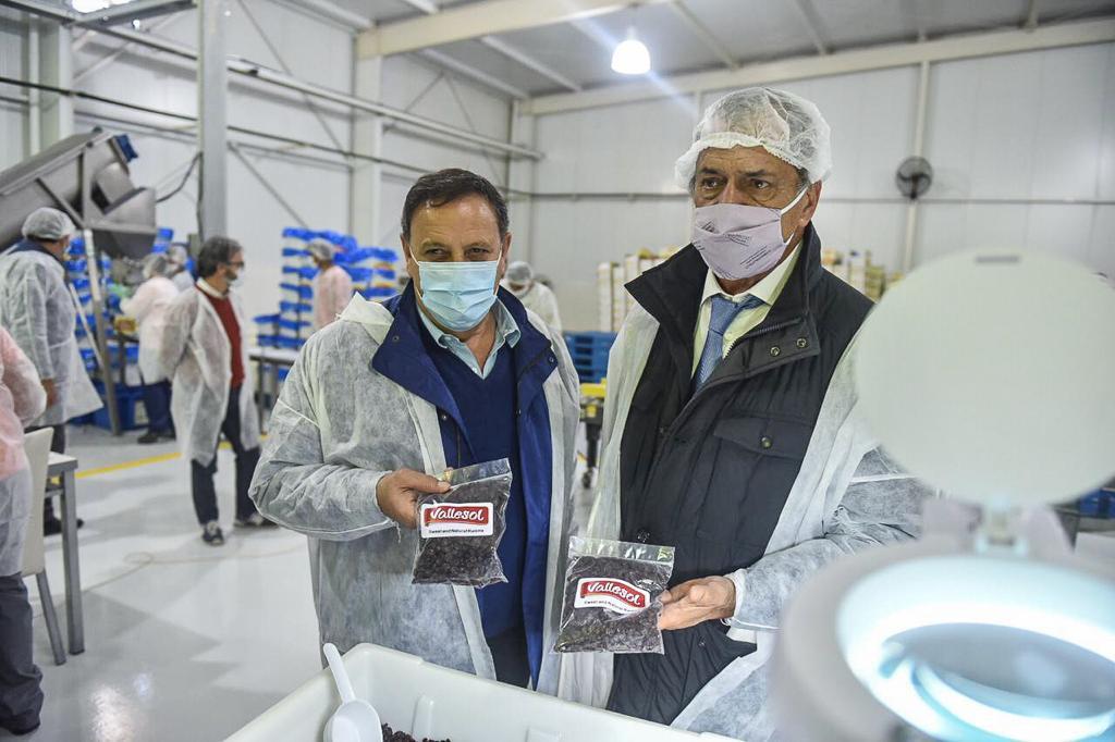 El gobierno provincial estrecha vínculos para avanzar en posibles exportaciones de productos riojanos